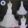 am453 espaguete tira fotos de casamento sexy vestidos de noite vestido de casamento real sereia