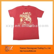 Wholesale Discount Stocklots Red Men Cotton Tshirts cheapest