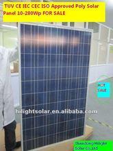 price per watt solar panels 260W solar panels for industrial use