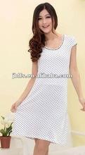 fashion slim dress for young ladies 2012