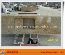 Kashmir gold granite bar countertop