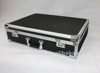 High quality black hard hand gun case
