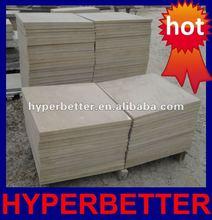 Honed beige sandstone pavers