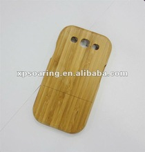 Bamboo hard case back cover for Samsung Galaxy S3 i9300