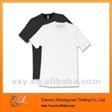 Promotional Solid Color Blank Tshirts with Cheap Price for Unisex