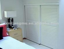 Water-proof Louver Interior/Exterior Custom Sliding Closet Door