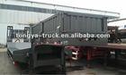 Heavy duty extendable low bed semi trailer on sale