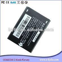 650mAh OT206 mobile phone battery for Alcatel CAB30M0000C1 OT206