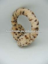 fashion winter ear muff /fake fur leather ear muff