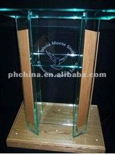 APP_029 modern acrylic podium;clear acrylic church pulpit;acrylic podium pulpit lectern