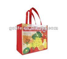 2014 hot sale pp non-woven handle shopping bags,colorful printing non woven bags fashion design,pp non woven reusable bags