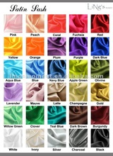 Satin Fabric Wedding Banquet Party Table Decoration