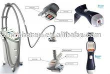 2012 New!! Velashape slimming machine with vacuum suction motorized intelligent roller