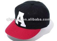 2012 fanshion 5 panel nylon 3D embroidey snapback hat