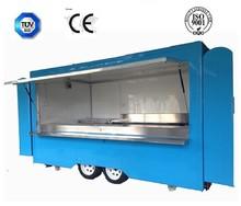 mobile food van in new type CE approve mobile food van