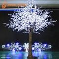 H: 4m 5900 led blanc chaud de noël arbre décoration 110v