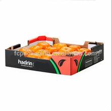 stampa personalizzata cachiimballaggio e display di frutta regalo scatole di cartone