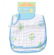 Hot Sales 100% Cotton Super Soft Muslin Baby Wrap Cloth