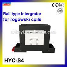 rogowski coils integrator for flexible rogowski coil Rail Type 90 phase shift correction
