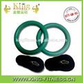 Crossfit caliente de ventas olímpicos de color de plástico abs anillos gimnasio con correas/anillos de gimnasia