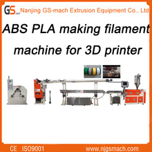 3mm and 1.75mm PLA and ABS Filament Plastic Extrusion Machine Line 3d extruder