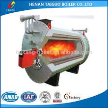 Gas / oil heat transfer fluid boiler