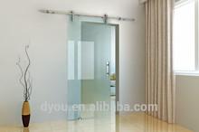 modern style barn glass sliding doors for sale