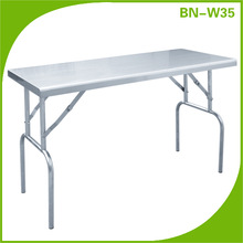 BN-W35 COSBAO stainless steel movable dining table