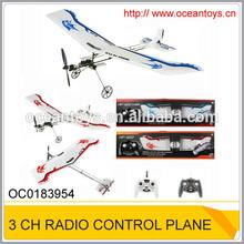 2.4G 3ch remote control airplane RC toy glider plane OC0183954