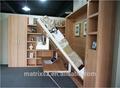 Moderno divano letto muro, muro letto pieghevole, doppio meccanismo letto muro