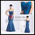 royal bustier corpo apertado ready made vestido de noite azul royal vestidos de noiva