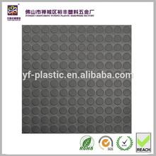 Coin design surface pvc mat rolls flooring