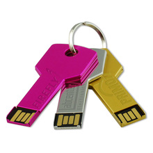 new product promotional key shaped usb stick