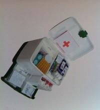 Empty Plastic First Aid Box AMC 2504
