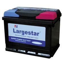 Hot sale Largestar Automotive battery MDIN60 (12V 60AH )