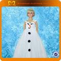 neve bianca su misura Elsa principessa abito costume per la festa vestito Elsa congelati