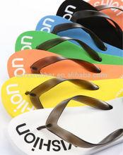 rainbow color printing rubber cheap thongs sandals flip flops manufacturer