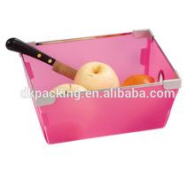 custom Plastic Fruit Box With printing