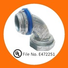 Zinc 90 Degee Liquid-Tight angle Connector