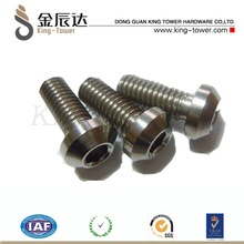 stocked ANSI standard stainless steel round machine screws (with ISO and RoHS certification)