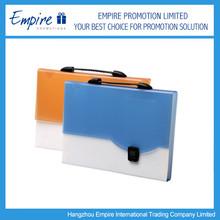 High Quality Fashionable Promotional Plastic Document Bag