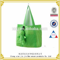 One shoulder zipper bag folding Oxford cloth
