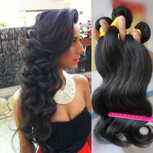 Factory wholesale hair extension, aaaaa raw unprocessed body wave, cheap brazilian hair extension