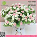 Hassas 25 kafaları küçük gül çiçek, yapay çiçek gül fabrika çin