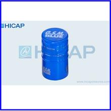 customized decorative aluminum lid for glass bottles