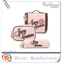 Fábrica diretamente saco de cosmética marca para fazer compras e promoção