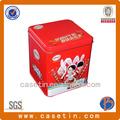 Vacío del metal lata, La plaza cajas de regalo con tapas, Envasado de alimentos