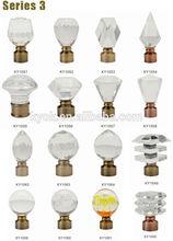 crystal ball curtain rod finial,curtain rod manufacturer,curtain rod bracket size