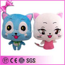 custom super soft boa lovely cat toy plush toy cat