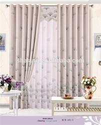 popular window curtain of printing blackout curtain fabric